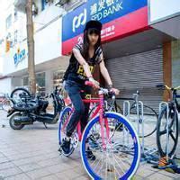 qq头像图片男生荧光自行车图片